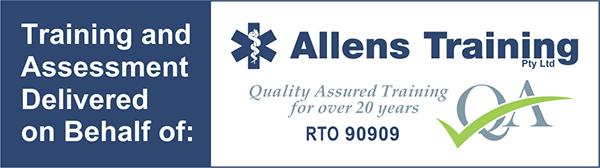 training delivered on behalf of Allens image
